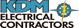 KDM Electrical Contractors Logo